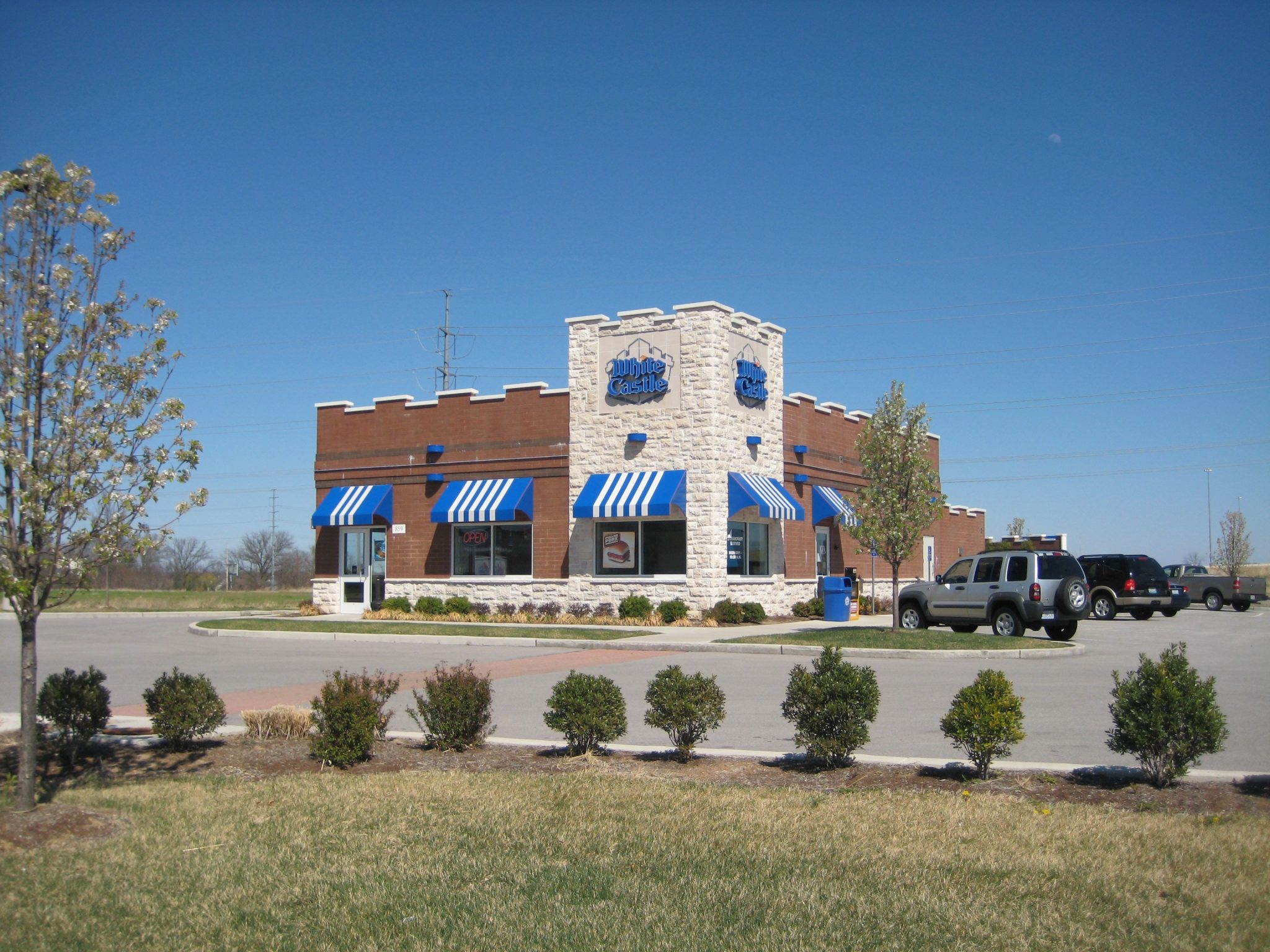 Brick & stone White Castle